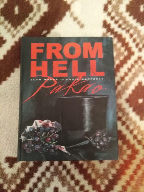 From Hell, Fibra