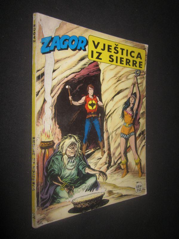 ZAGOR 22. Vještica iz Sierre