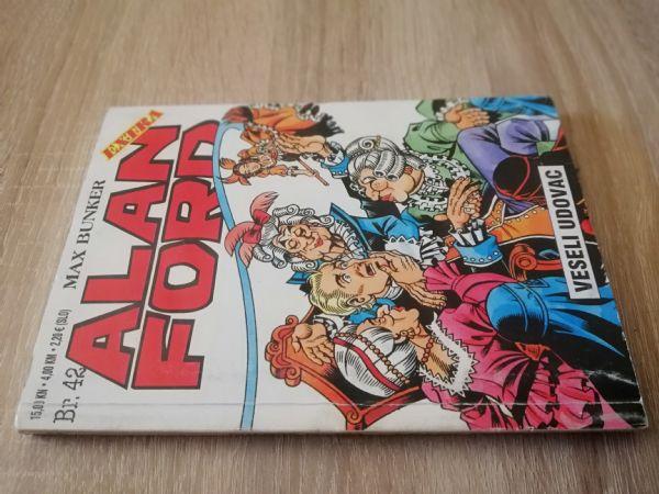 Alan Ford extra 42 - Veseli udovac (Strip agent)