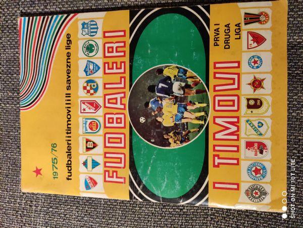 Fudbaleri i timovi 1975/76