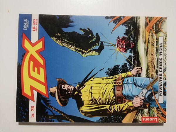 Tex 75 - Povratak Crnog Tigra (Ludens)