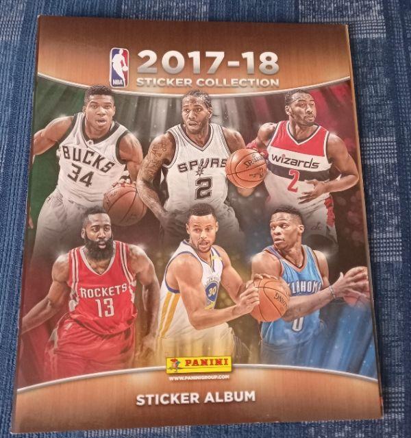 NBA 2017/18 Panini prazan album