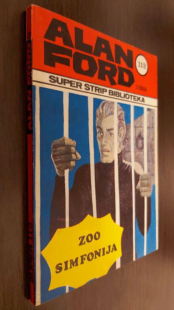 ALAN FORD SUPER STRIP BR.9ZOO SIMFONIJA KARTONAC (ODLICAN)