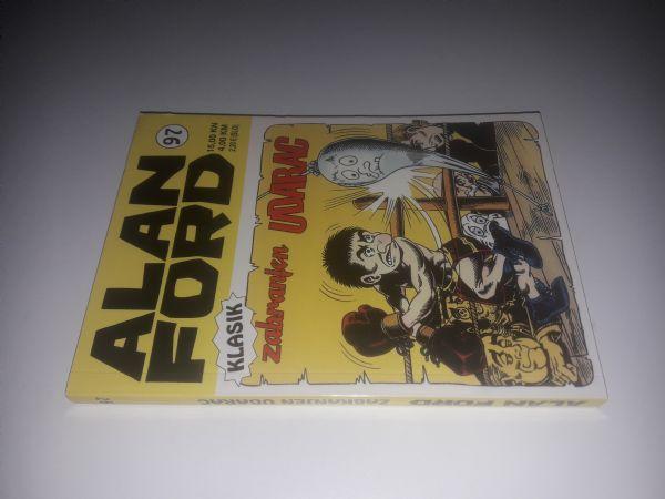 Alan Ford klasik 97 - Zabranjen udarac (Strip agent)