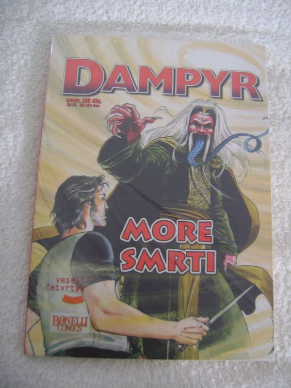 DAMPYR 31 - MORE SMRTI - VESELI ČETVRTAK