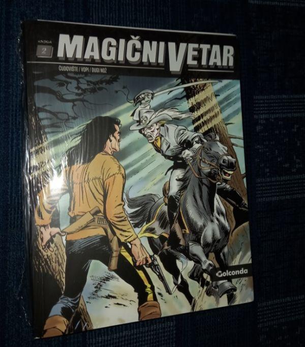 Magični Vetar Golconda Knjiga 2 Čudovište