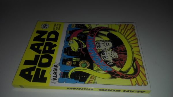 Alan Ford klasik 99 - Broadway (Strip agent)