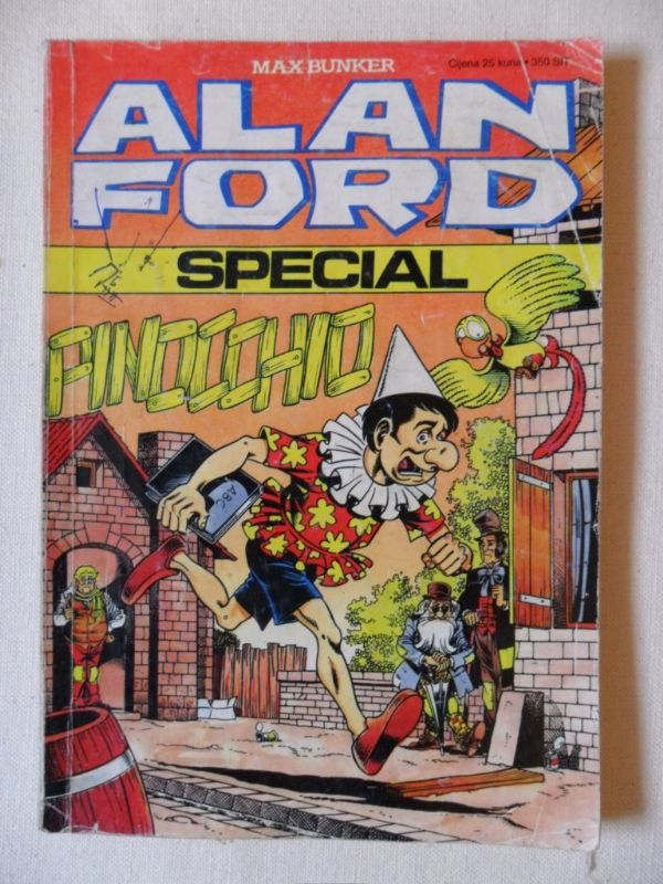 Alan Ford Special Pinocchio (-3)