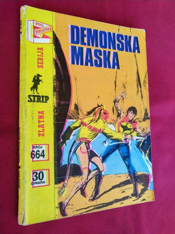 ZAGOR (zs) br 664 Demonska maska  (+4/4)