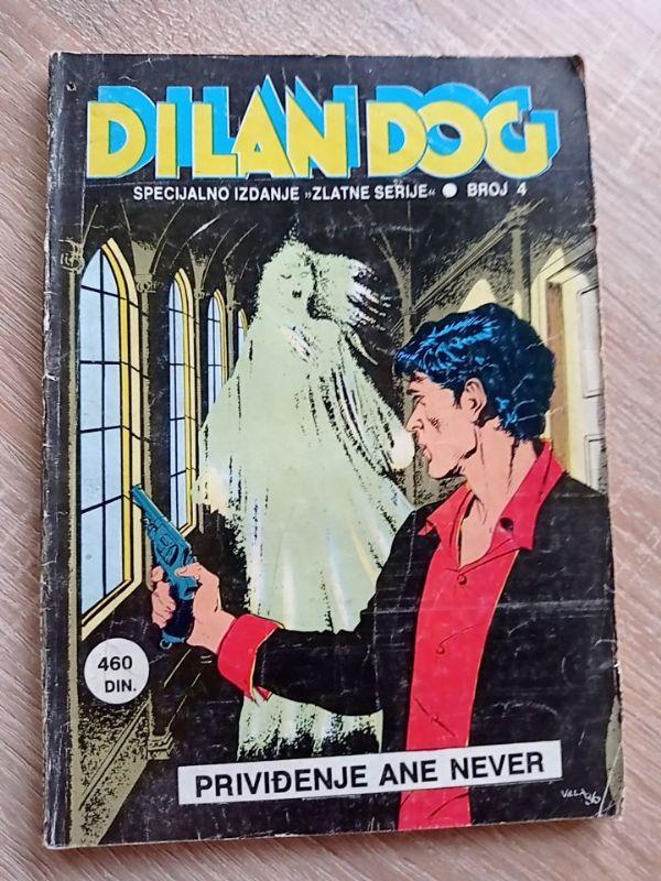 Dilan Dog Specijalno izdanje zlatne serije broj 4 Priviđenje Ane Never