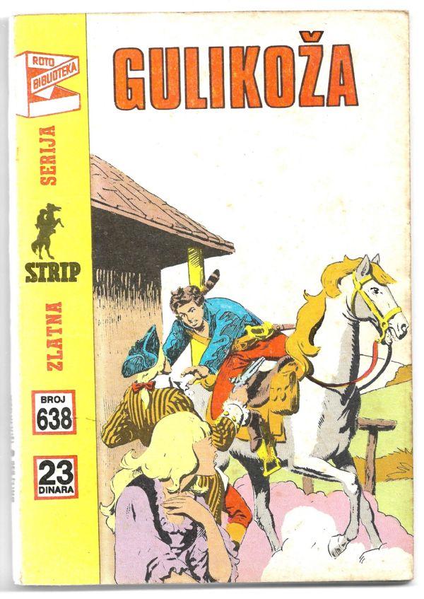 K.Mark , Gulikoža , br.638 , +4 ,