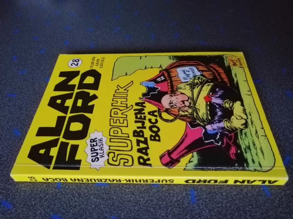 Alan Ford super klasik 28 - Superhik : razbijena boca (Strip Agent)