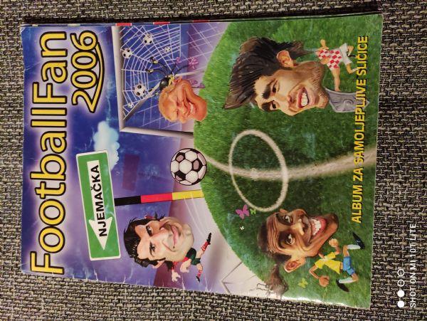 Album sa sličicama Football fan 2006 Njemačka