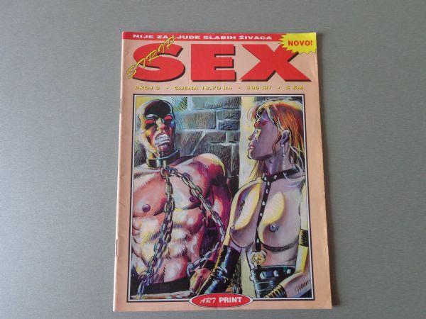 SEX STRIP Br 3  ART PRINT 2000 GOD.  ( -5 )