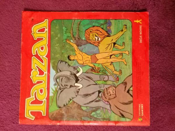 Album sa sličicama Tarzan - Figurine Panini