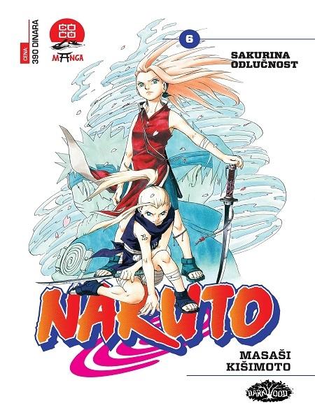 NARUTO  (Manga) br. 6