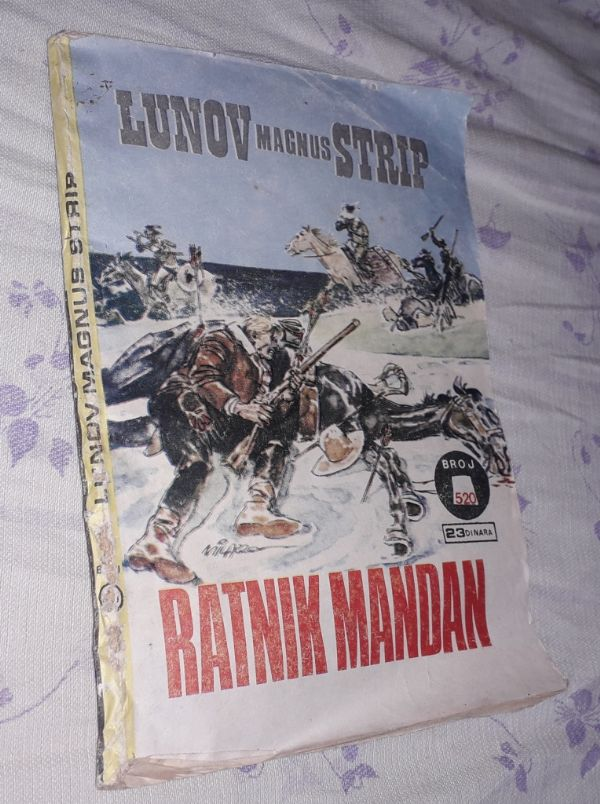 LMS / Lunov Magnus strip, broj 520 - Ratnik Mandan (P)