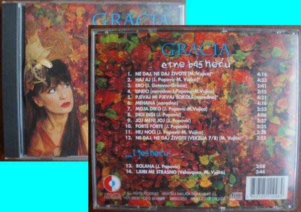 CD: Gracia Etno baš hoću (Najveći hitovi)