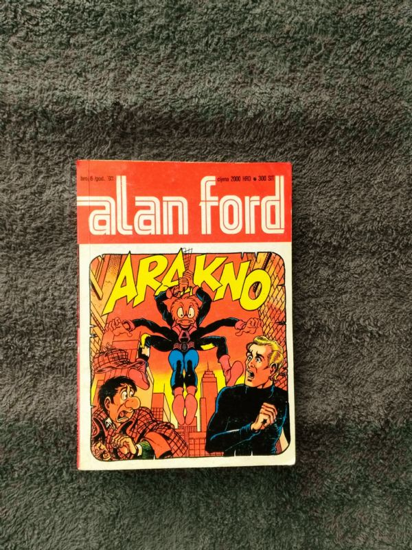 ALAN FORD Borgis br. 06 - Arakno (5-)