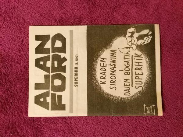 Alan Ford Prilog Večernjeg lista - Superhik III.dio (5/5-)