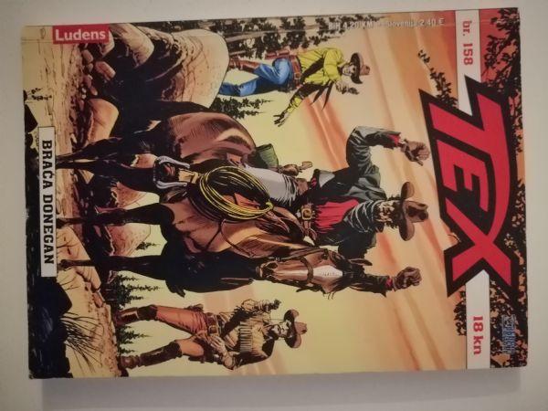 Tex 158 - Braća Donegan (Ludens)