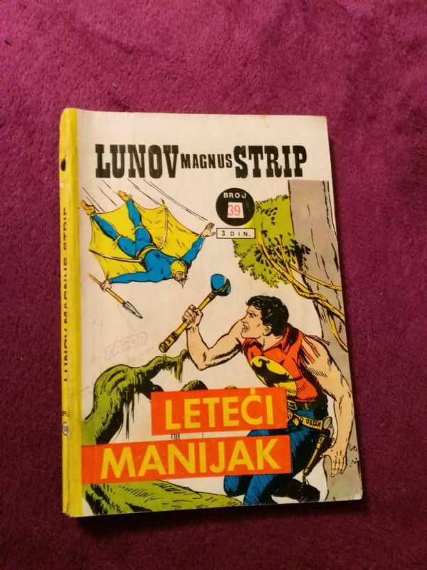 Zagor LMS br. 39-Leteći manijak