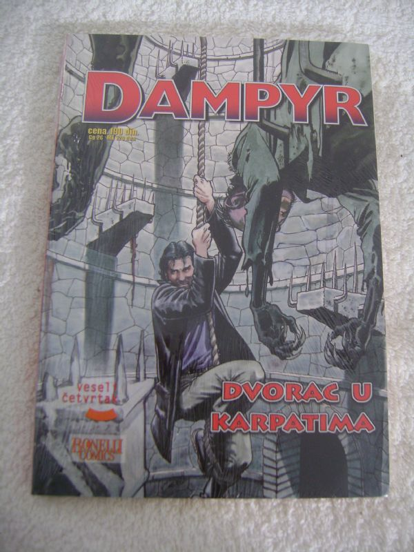 DAMPYR 20 - DVORAC U KARPATIMA - VESELI ČETVRTAK