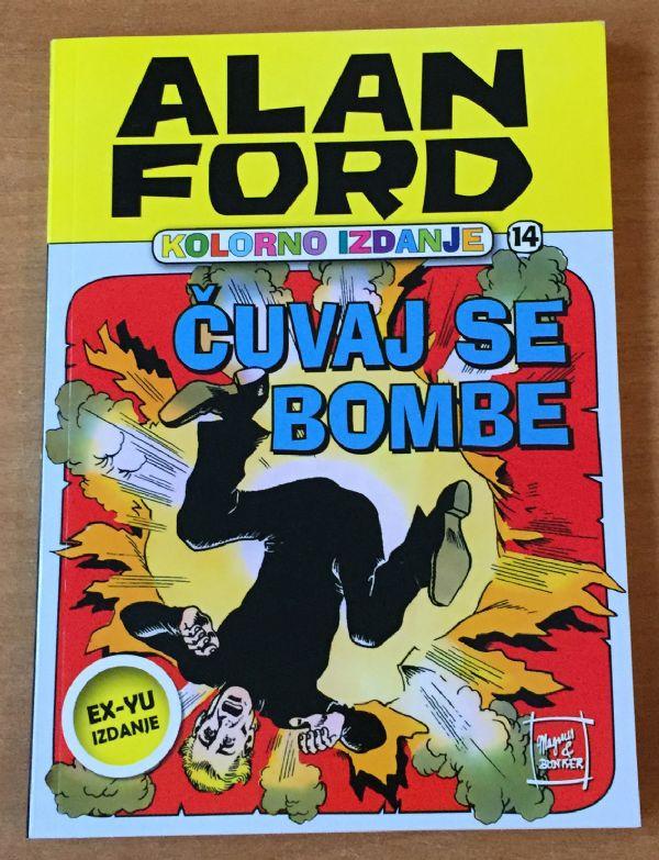 Alan Ford colorac 14