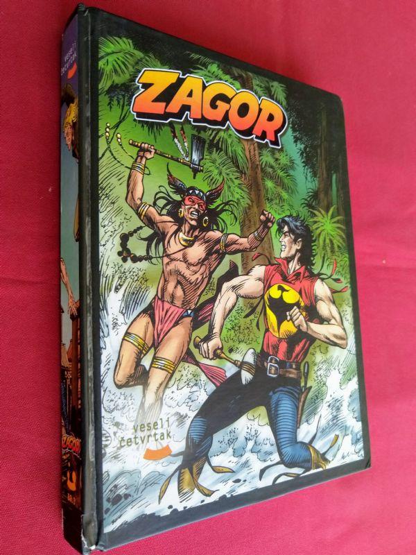 ZAGOR (HC) kolekcionarska knjiga broj 3 (veseli četvrtak)  (+4/5)