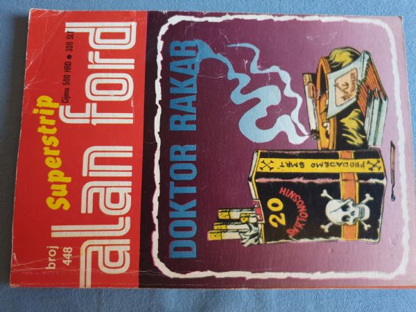 Alan Ford Super strip  Br 448     Ocijena -5