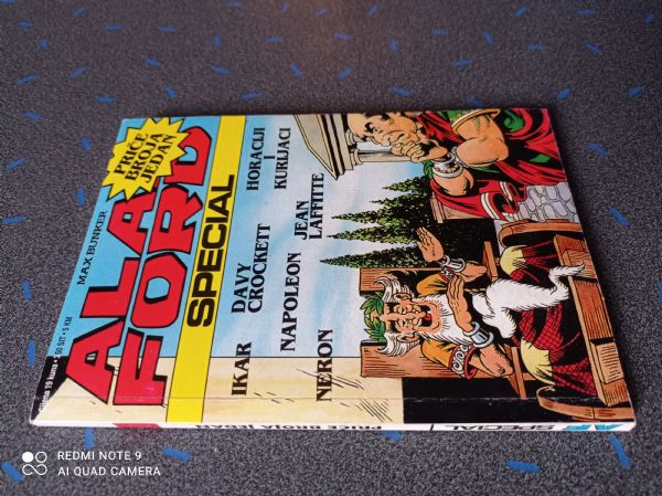 Alan Ford special - Priče Broja Jedan 2.dio (Borgis) - mali format, tvrđe korice