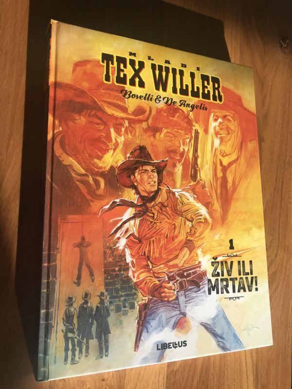 Libellus Mladi Tex Willer • ŽIV ILI MRTAV