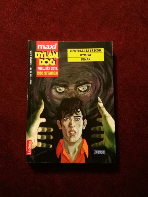Dylan Dog Maxi 19 - U potrazi za srećom - Otmica - Junak