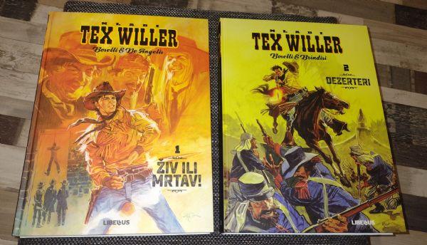 Mladi Tex 1 Živ ili Mrtav, 2 Saboteri, Libellus