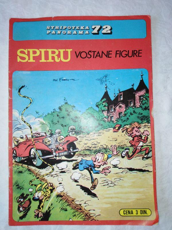 STRIPOTEKA PANORAMA 72, SPIRU VOŠTANE FIGURE
