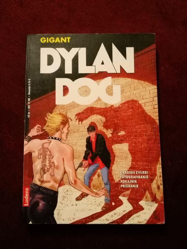 Dylan Dog Ludens Gigant br. 14 - Gradske zvijeri - Fotografisanje - Pokajnik - Priznanje