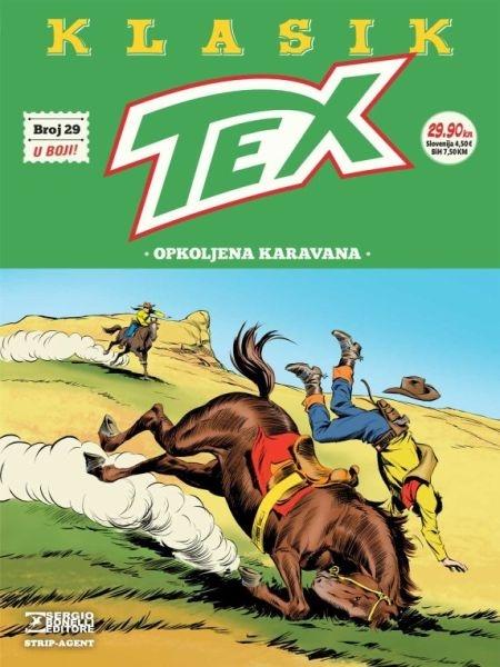 TEX KLASIK br. 29 - Strip agent