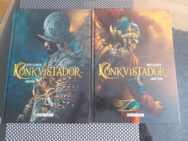 Konkvistadori 1, 2 - Phoenix press