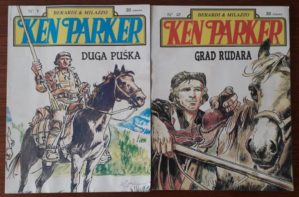 KEN PARKER, brojevi 1 i 2, izdavač MORIA