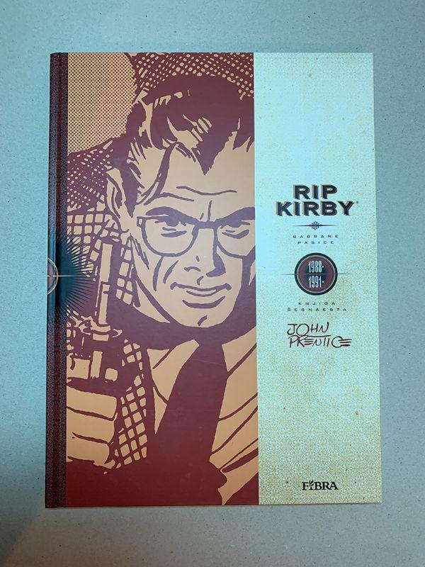 Rip Kirby 16 (Fibra)