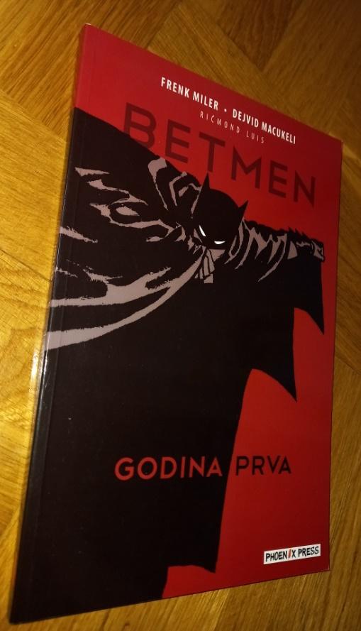 Betmen Godina prva Phoenix Press