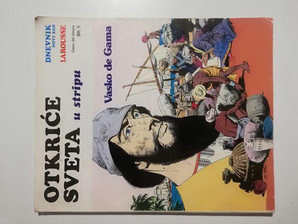 Otkriće sveta u stripu 5 - Vasko de Gama (Dnevnik)