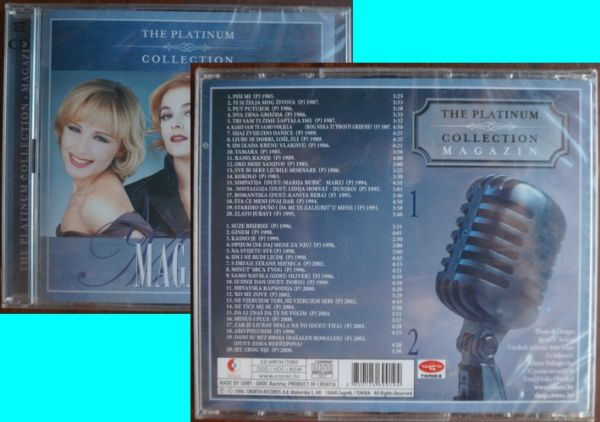 2 CD: Magazin The platinum collection