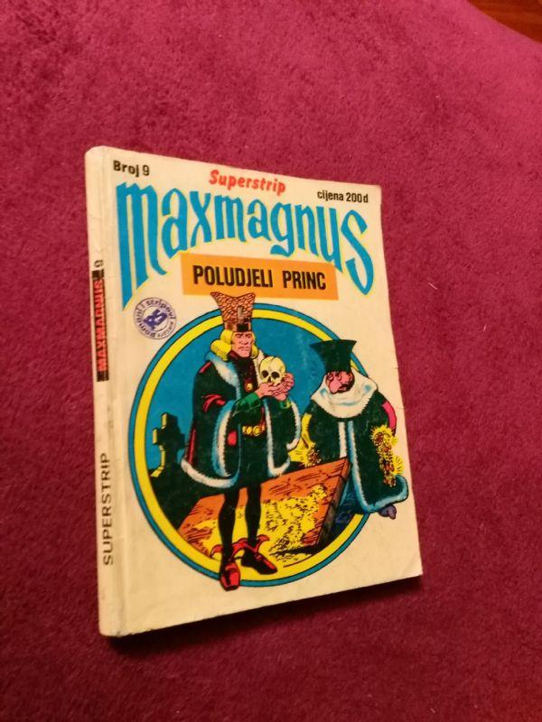 Maxmagnus Superstrip br. 9 - Poludjeli Princ