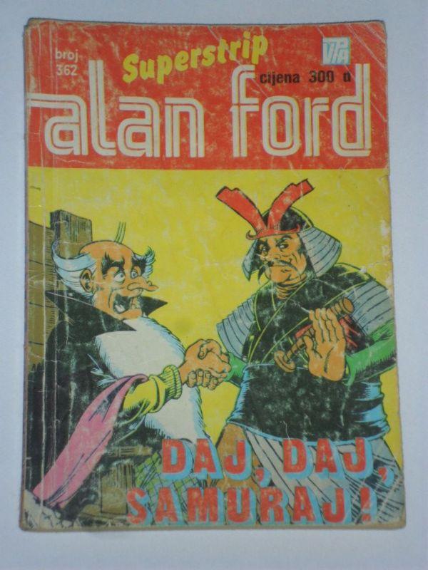 Alan Ford Superstrip br. 362 Daj, daj, samuraj! (3)