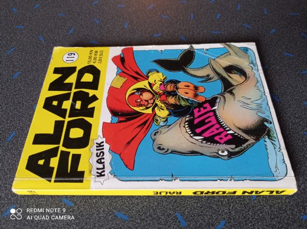 Alan Ford klasik 119 - Ralje (Strip Agent)