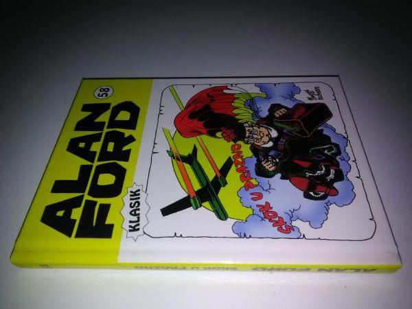 Alan Ford klasik 58 - Skok u prazno (Strip agent) - Tvrde korice
