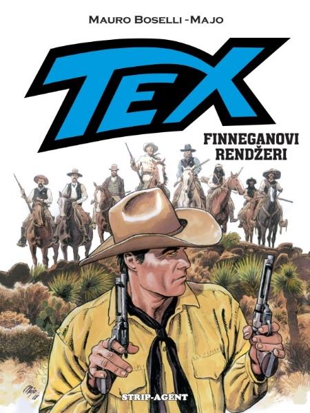 TEX GIGANT - Finneganovi rendžeri ( Strip-agent)