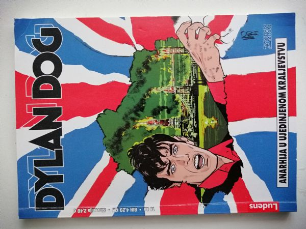 Dylan Dog 166 - Anarhija u Ujedinjenom Kraljevstvu (Ludens)