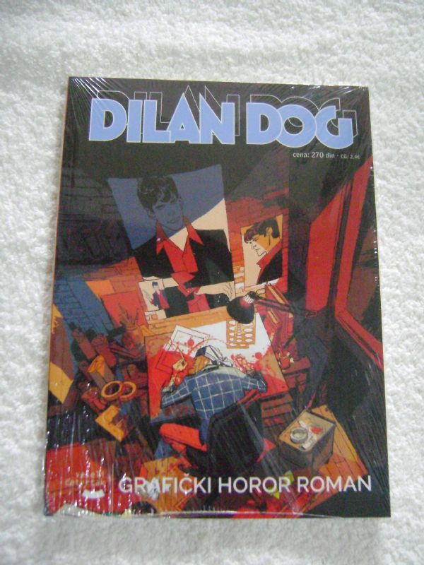 DYLAN DOG 160 - GRAFIČKI HOROR ROMAN - VESELI ČETVRTAK